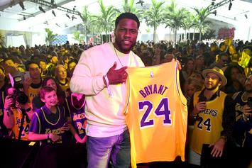 Kevin Hart Reveals He Went To Basketball Camp With Kobe Bryant As A Kid