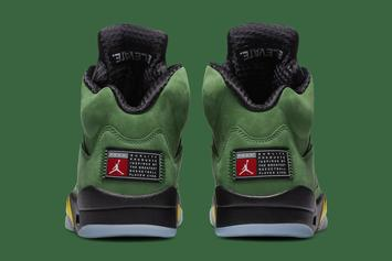 "Air Jordan 5 ""Oregon Ducks"" Drops Today: Purchase Links"
