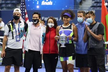 Naomi Osaka Wins US Open With Boyfriend Cordae In Attendance