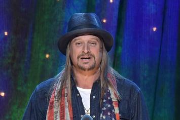 Kid Rock Performs At Detroit Trump Rally & Expresses How Important POTUS Is To Him