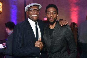 Samuel L. Jackson & Chris Evans Mourn Chadwick Boseman In New Interview