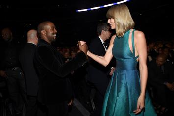 "Kanye West Will ""Personally See To It"" That Taylor Swift Gets Her Masters Back"