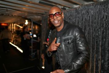 "Dave Chappelle Tells Critics To ""Shut The F*ck Up Forever"" During Emmy Speech"