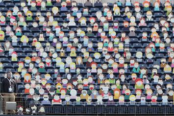 """Denver Broncos Fill Stands With Cutouts Of """"South Park"""" Characters"""