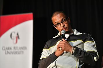 "T.I. Struggles To Define ""Rubber Band Man"" To Children"