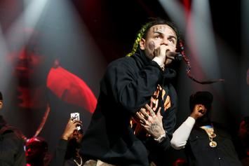6ix9ine Hospitalized After Caffeine & Hydroxycut Overdose