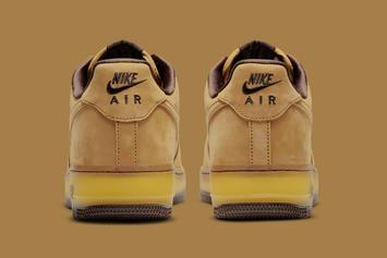 """Nike Air Force 1 Low """"Wheat Mocha"""" Unveiled: Photos"""