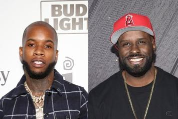 Tory Lanez Links With Funk Flex In The Studio After Club Outing