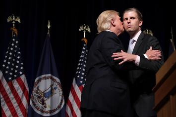 "Eric Trump Says Dad ""Lost An Absolute Fortune"" During Presidency"