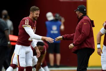 Alex Smith Plays In First NFL Game Since Gruesome Injury In 2018