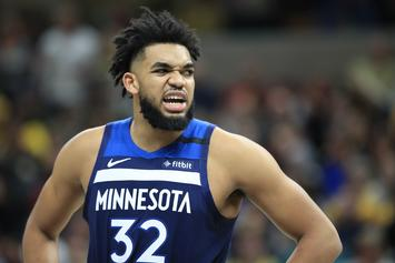 "Karl-Anthony Towns ""Super Supportive"" Of Jordyn Woods' OnlyFans"