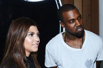 Kourtney Kardashian Criticized For Promoting Kanye West Election Merch