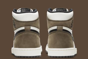 "Air Jordan 1 High OG ""Dark Mocha"" Receives Detailed Look: Photos"