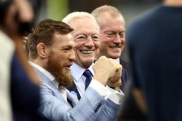 Jerry Jones Open To Hosting Conor McGregor-Dustin Poirier Fight