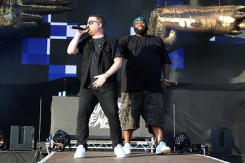 "Run The Jewels Perform ""RTJ4"" To Urge Fans To Vote With Pharrell, 2 Chainz & More"