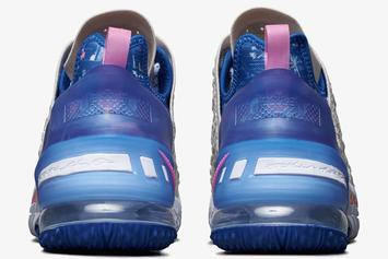 "Nike LeBron 18 ""Los Angeles By Day"" Drops Soon: Official Photos"