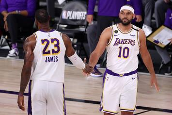 LeBron James Shows Love To Jared Dudley After Lakers Title Win