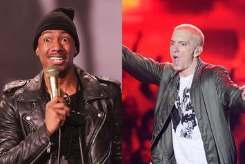 "Nick Cannon's ""Top 5 Flows Of All Time"" Includes Eminem & Migos"