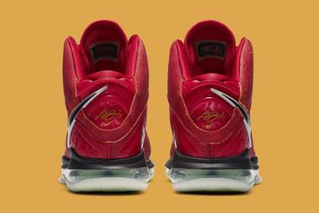 "Nike LeBron 8 ""Gym Red"" Coming Soon: Official Photos"