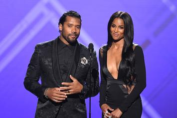 Russell Wilson & Ciara Channel Busta Rhymes & Janet Jackson For Halloween