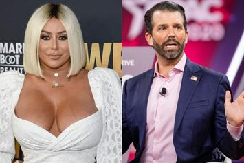 Aubrey O'Day Alleges Donald Trump Jr. Did Drugs When They Were Together