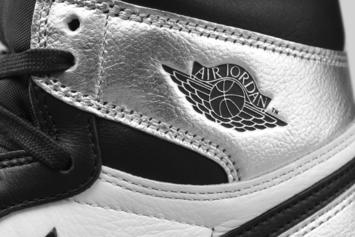 "Air Jordan 1 ""Silver Toe"" Receives Official Look: Photos"