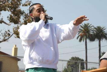Nipsey Hussle's Shop Vandalized & Looted
