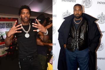 """Kanye West & Lil Baby Shooting Video For """"Hurricanes"""" Collab"""