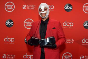 The Weeknd Looked Like An Absolute Wreck At The AMAs