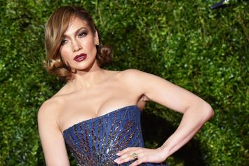 "Jennifer Lopez Takes It All Off In Nude Cover Art For ""In The Morning"""