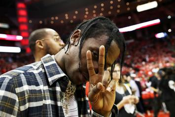 Travis Scott Shares Ultra-Rare Smiling Picture