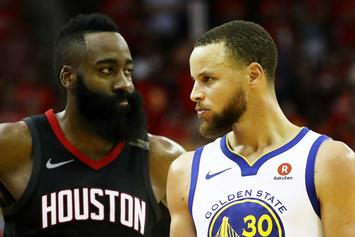 Warriors Were Interested In James Harden Trade Prior To Klay Thompson Injury: Report