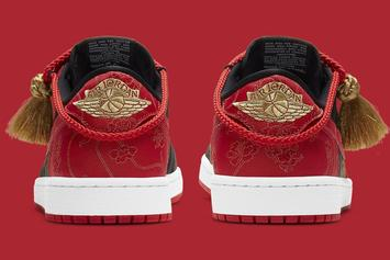 "Air Jordan 1 Low ""Chinese New Year"" Coming Soon: Photos"