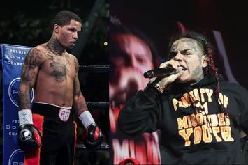 6ix9ine Apparently Wants Smoke In The Ring With Gervonta Davis