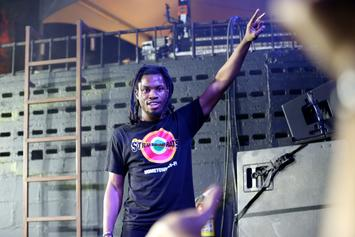 "Denzel Curry Scores First Platinum Plaque For ""Clout Cobain"""