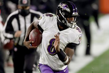 "Lamar Jackson Denies Bathroom Break During Game: ""I Didn't Pull A Paul Pierce"""