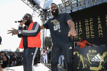 """James Harden Gets Thick, Prompts """"Rick Ross"""" Trend"""