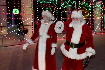 Santa & Mrs. Claus In Georgia Test Positive For COVID-19 After Meeting 50 Kids
