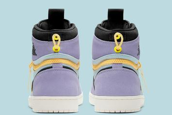 "Air Jordan 1 Switch ""Purple Pulse"" Revealed: Official Images"