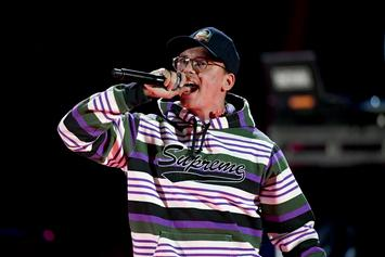 Logic Gets Vulgar While Joking About His Son's First Words