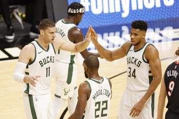 Bucks Set NBA Record For 3-Pointers Made In 144-97 Win Over Heat