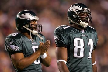 "T.O. ""Knows For A Fact"" Donovan McNabb Was Partying Before Super Bowl XXXIX"