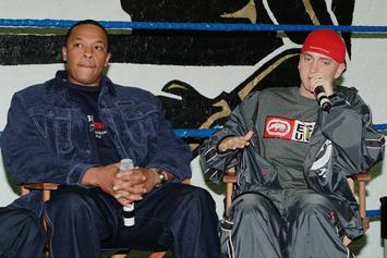"""Eminem Traded A Song With Dr. Dre To Get """"Guns Blazing"""""""