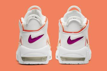 """Nike Air More Uptempo """"Sunset"""" Coming Soon: Official Photos"""
