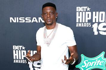 Boosie Walks For The First Time Since Being Shot In The Leg
