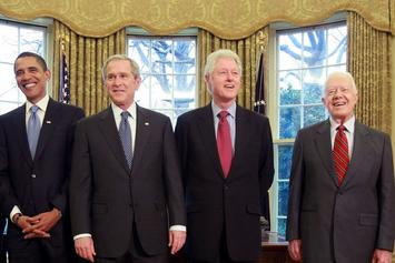 Barack Obama, George W. Bush, Bill Clinton, & Jimmy Carter Issue Statements About Violence At Capitol