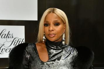 Mary J. Blige Stuns In Glowing Golden 50th Birthday Bikini Thirst Trap