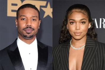 Michael B. Jordan Is Drooling Over Lori Harvey's Birthday Cake