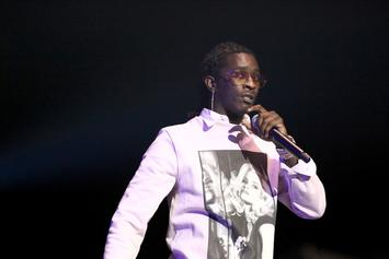 Young Thug Seemingly Reacts To YFN Lucci's Murder Charge