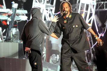 """Snoop Dogg Opens Up About Eminem: """"We're Still Friends"""""""